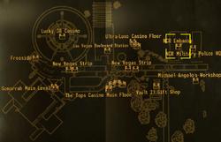 NCR Embassy loc map
