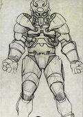 New art 18 power armor