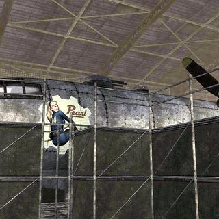 Зображення молодої Перл на борту B-29