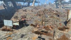 Rotten landfill