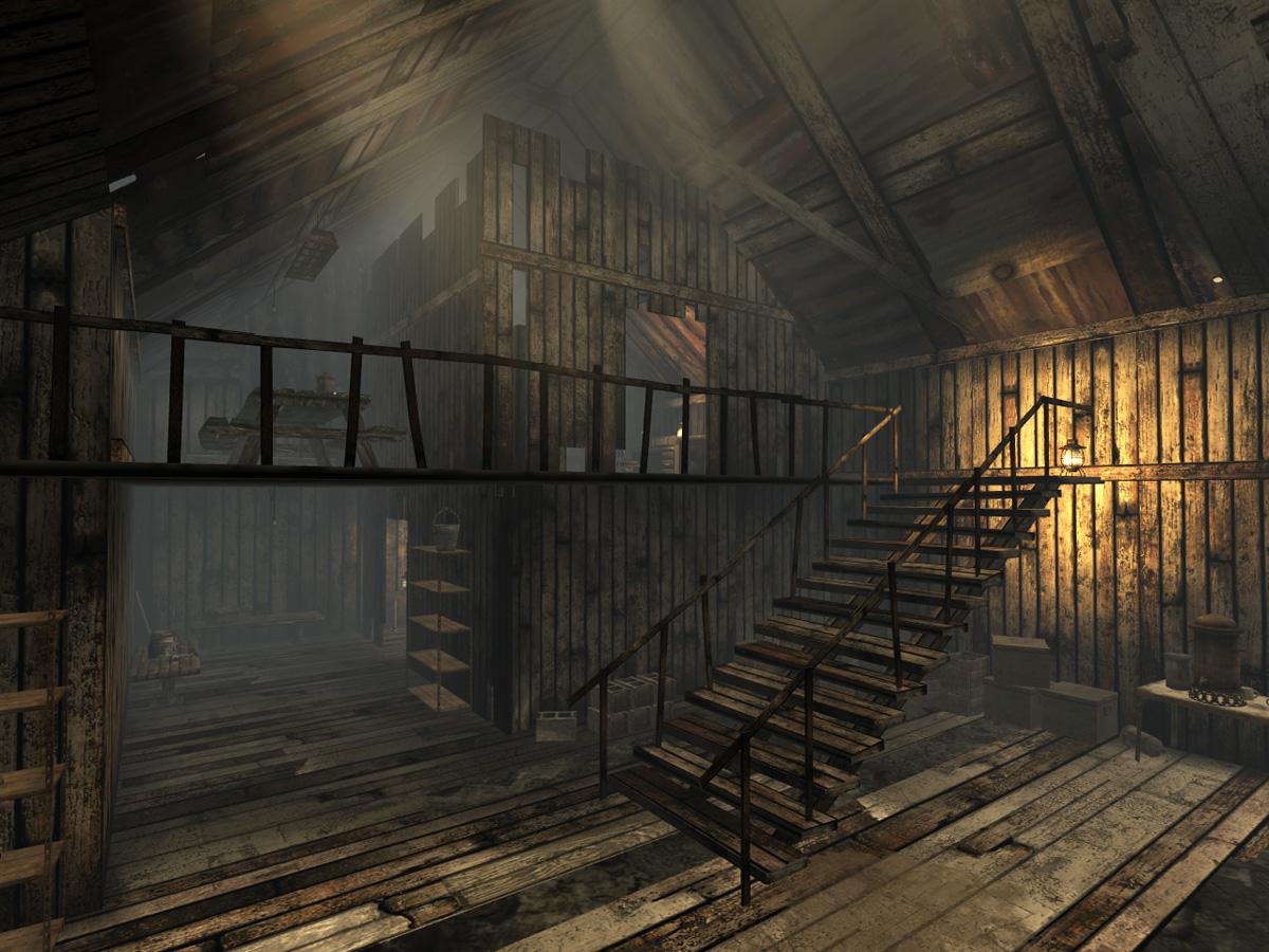 Sloan mining office interior