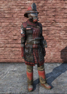 FO76 Fire Breather Uniform Full Female