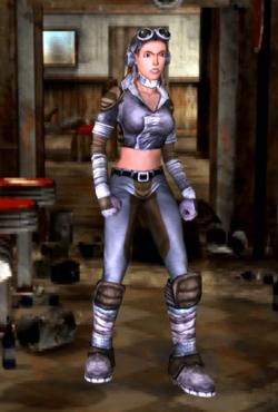 FOBOS Nadia (leather armor)