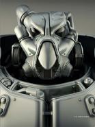 Fo4 X-01 power armor CA PVC model