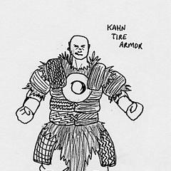 A Khan tire armor