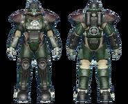 FO4CC T-51 power armor gunner corporal