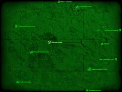 FO4 Кратер Атома (карта мира)