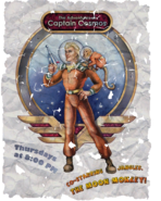 FO4 Poster Capitan Cosmos and moon monkey