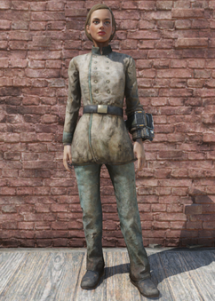 FO76 Conferderate Uniform