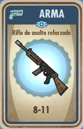 FOS Rifle de asalto reforzado carta