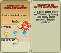 FoS Guardian of the Wastes Radscorpions! card