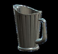 Glass pitcher