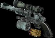 Hunting Revolver blown up