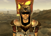 Legionario asesino con cabeza de perro