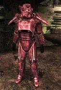 Różowy pancerz w grze