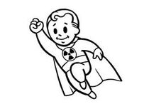 Vault Boy superheroe
