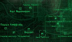 FO3 Nuka-Cola plant wmap
