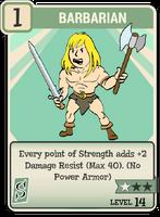 Fo76 Barbarian