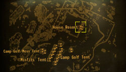 House Resort loc map
