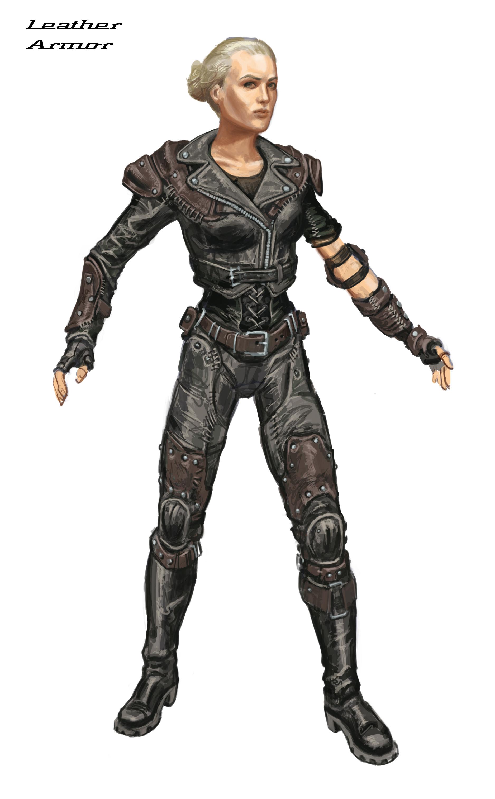 Leather armor CA4