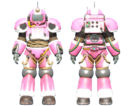 CC-00 power armor Hot Rod hot pink paint