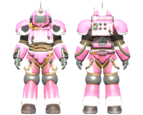 CC-00 power armor Hot Rod hot pink paint