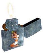 FNV Dynamite lighter (Blender)