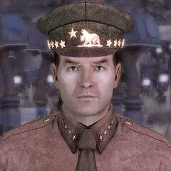 Лі Олівер, генерал військ Республіки в Мохаве