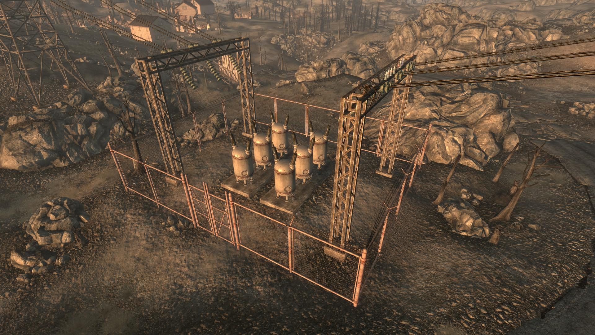 FO3 Minefield power substation