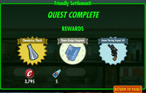 FoS Friendly Settlement! rewards A
