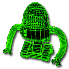 Robobrain render in <i>Fallout</i> and <i>Fallout 2</i>