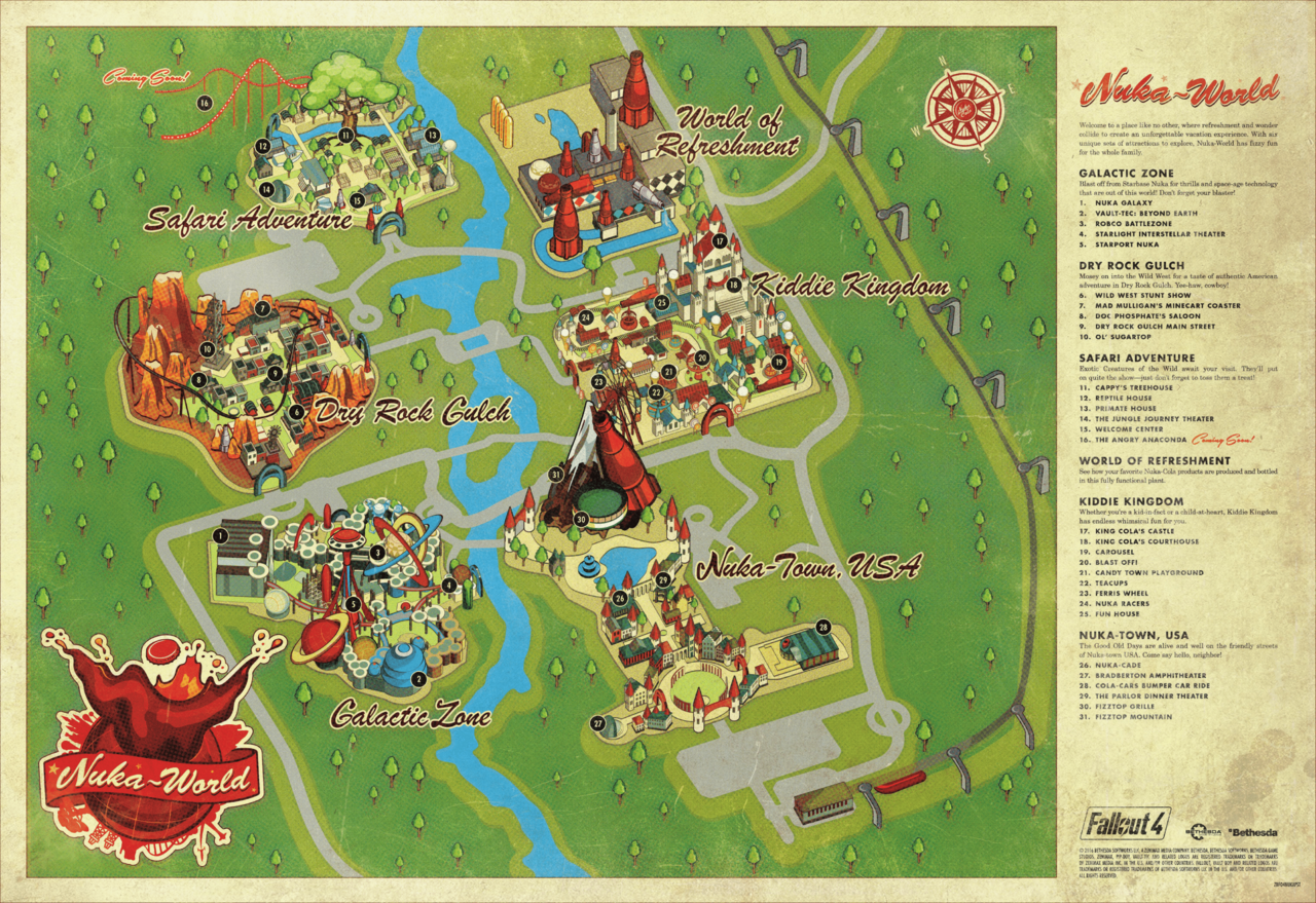 nuka world mappng