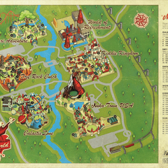 Nuka-World Park map