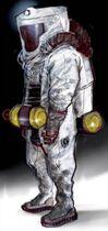 Art of Fallout 4 hazmat suit