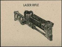 F3 laser rifle