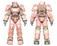 FO4CC T-60 power armor pink