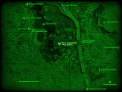 FO4 Место захоронения «Масс фьюжн» (карта мира)