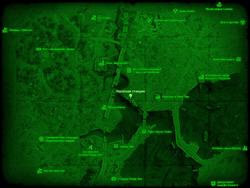 FO4 Насосная станция (карта мира)
