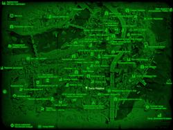 FO4 Театр Уоррена (карта мира)