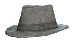 FO76 Battered fedora