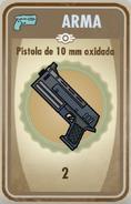 FOS Pistola de 10mm oxidada carta