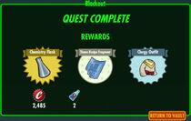 FoS Blackout rewards