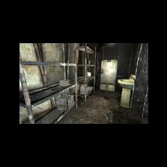 Кухня за сходами