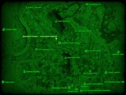 FO4 Дженерал Атомикс — салон демо-моделей (карта мира)