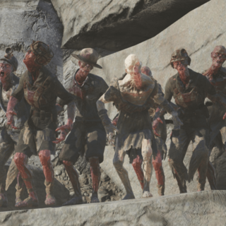 Different types of feral ghouls in Fallout 76