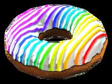 Fo4CC Rainbow donut