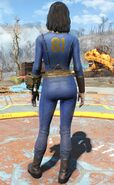Fo4 vault 81 jumpsuit female