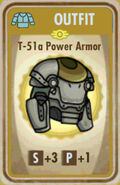 FoS T-51a Power Armor Card