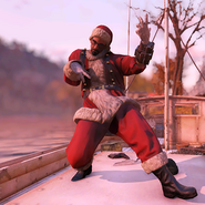 FO76 Atomic Shop outfit mrclaus c3