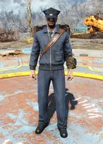 Fo4 Postman Uniform